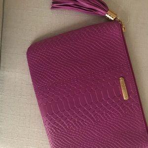 Gigi New York Purple Clutch